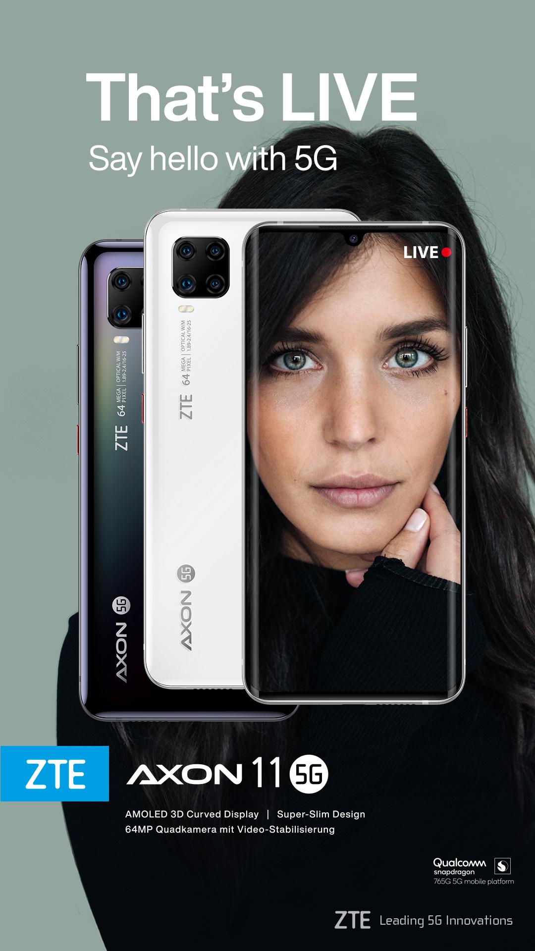schwarzes und weißes Smartphone mit Frau responsiv