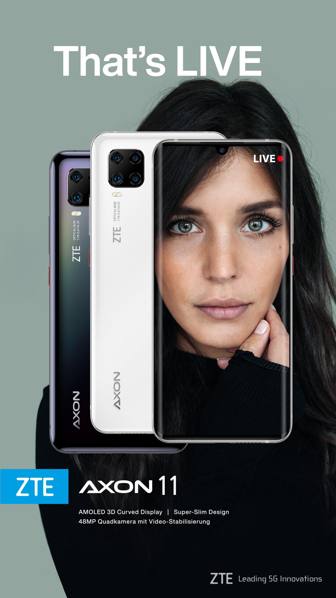 schwarzes und weißes Smartphone mit Frau