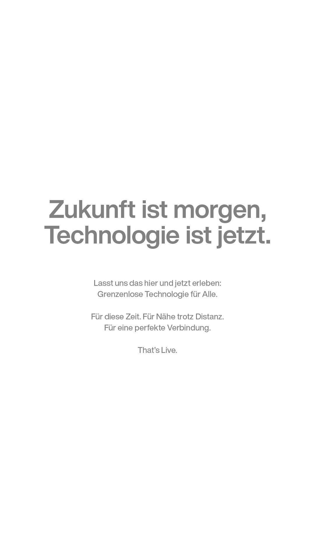 technologie und zukunft