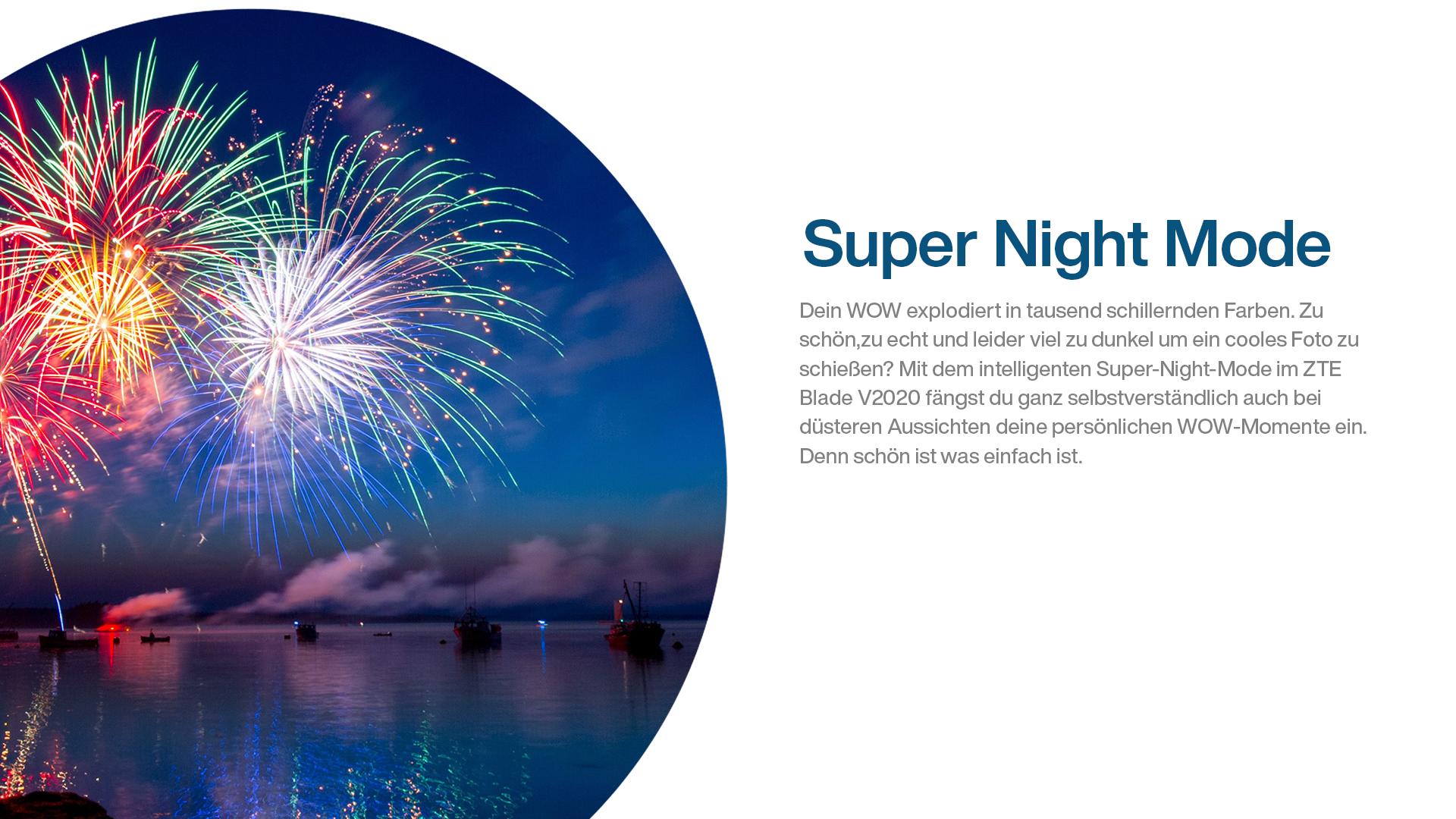 Foto von Feuerwerk bei Nacht