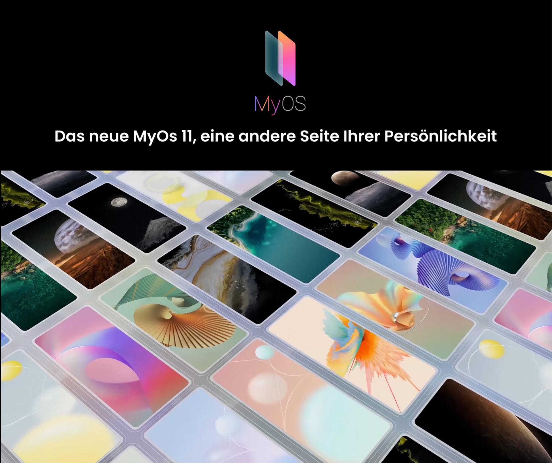 Das neue MyOs 11 des ZTE Axon 30 Ultra, eine andere Seite Ihrer Persönlichkeit