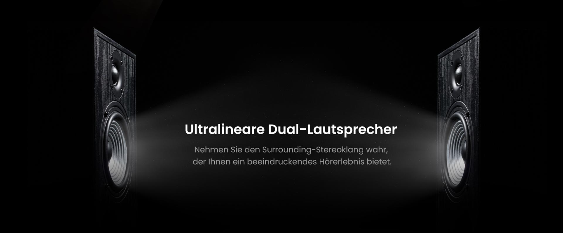 ZTE Axon 30 Ultra mit ultralinearem Dual-Lautsprecher - Nehmen Sie den Surrounding-Stereoklang wahr, der Ihnen ein beeindruckendes Hörerlebnis bietet
